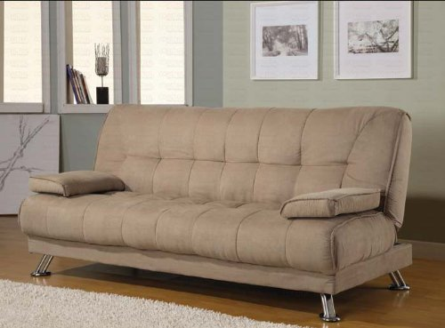 Coaster Home Furnishings Casual Sofa Bed Tan Best Sofas