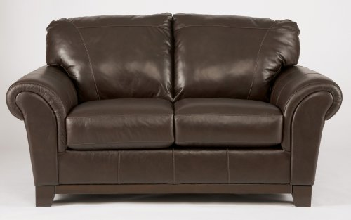 Deasil Brown Loveseat Best Sofas Online Usa