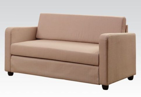 Acme Modern Chocolate Fabric Sleeper Sofa Best Sofas line USA