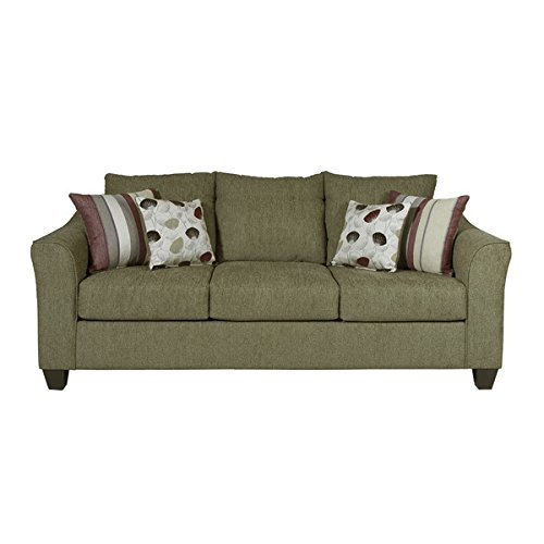 serta sofa extremely comfortable very sturdy fabric sofa. Black Bedroom Furniture Sets. Home Design Ideas