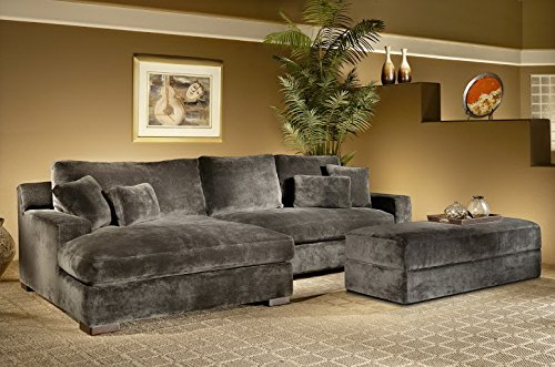 Valentia Home 2 Piece Bethenney Sectional Raf One Arm Sofa And Laf