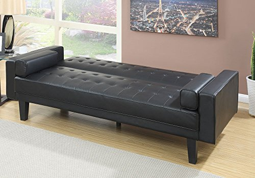1perfectchoice Living Room Adjustable Sofa Bed Couch Futon